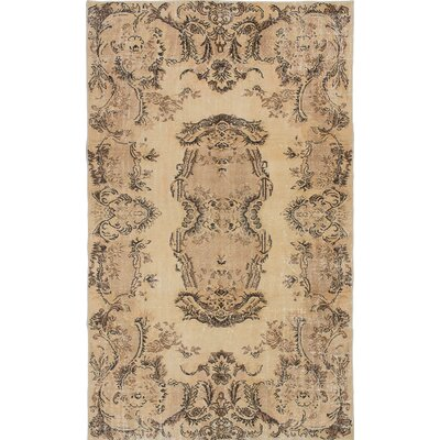 Olsen Hand-Knotted Cream Area Rug