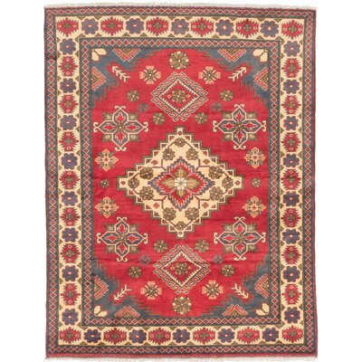 One-of-a-Kind Bunkerville Hand-Knotted Red/Beige Area Rug