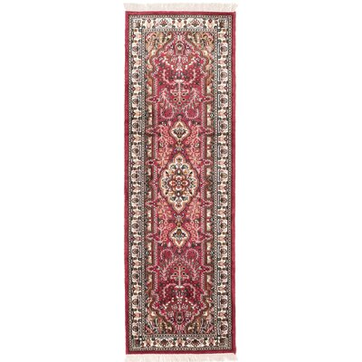 One-of-a-Kind Orangetree Hand-Knotted Salmon Area Rug