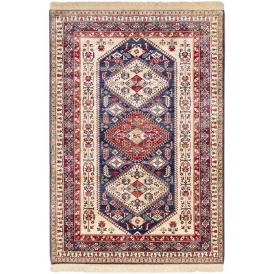 Shiravan Cream Area Rug Rug Size: 5 x 77