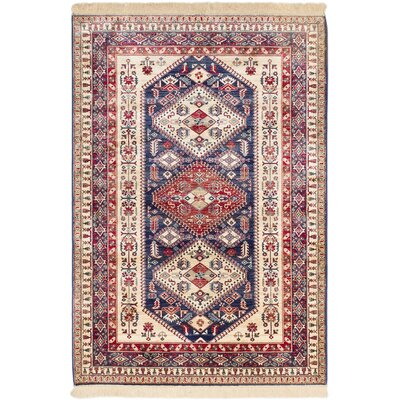 Shiravan Cream Area Rug Rug Size: Rectangle 79 x 1010