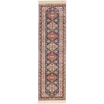 Shiravan Beige/Red Area Rug Rug Size: Runner 23 x 710