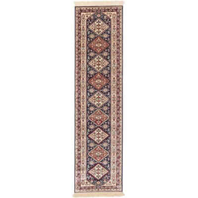 Shiravan Beige/Red Area Rug Rug Size: Runner 26 x 910