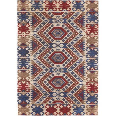 Burma Cream/Blue Area Rug