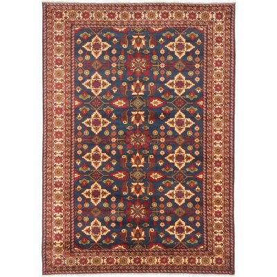 Bunkerville Wool Hand-Knotted Dark Navy Area Rug