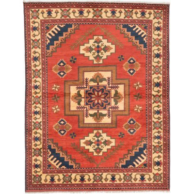 Bunkerville Wool Hand-Knotted Copper Area Rug