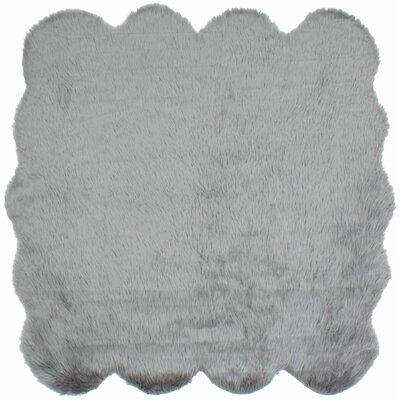 Royale Octo Handmade Gray Area Rug