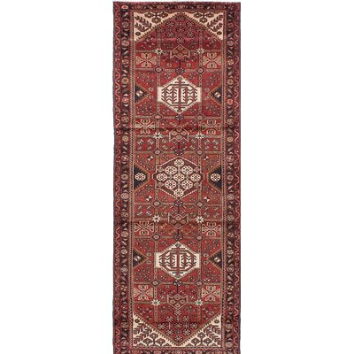 One-of-a-Kind Roth Hand-Knotted Brown Area Rug