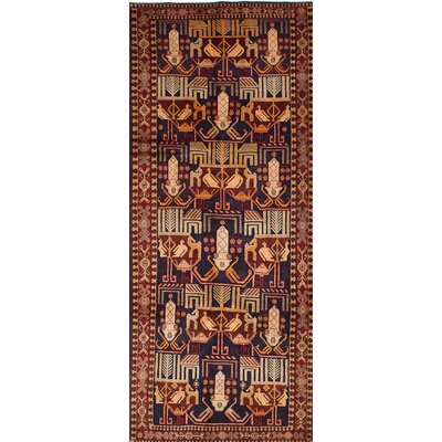 Lin Hand-Knotted Brown/Beige Area Rug