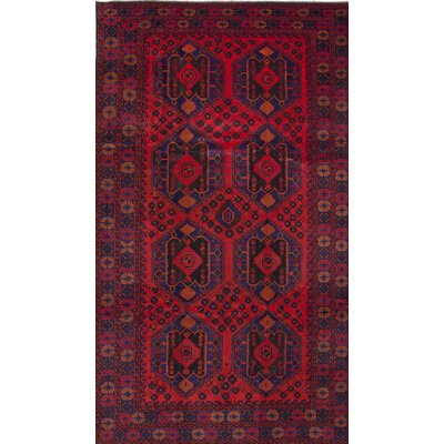 One-of-a-Kind Mcdorman Hand-Knotted Red Area Rug