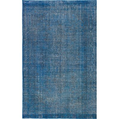 Transition Hand-Knotted Blue Area Rug