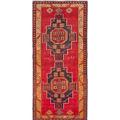 Sarab Hand-Knotted Red Area Rug