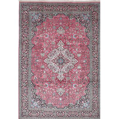 Orangetree Hand-Knotted Pink/Gray Area Rug