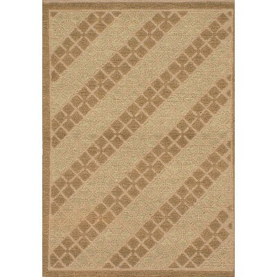 Impressions Handmade Wool Brown Area Rug