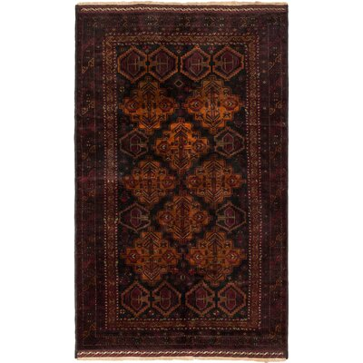 Finest Mouri Hand-Knotted Black Area Rug