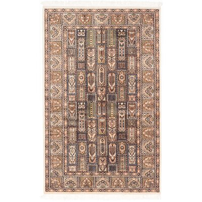 One-of-a-Kind Orangetree Hand-Knotted Beige/Ivory Area Rug