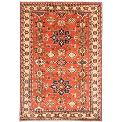 One-of-a-Kind Bunkerville Hand Knotted Wool Copper/Beige Area Rug