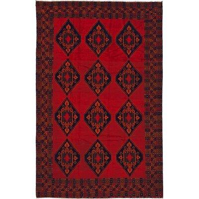 One-of-a-Kind Finest Rizbaf  Hand-Knotted Dark Burgundy Area Rug