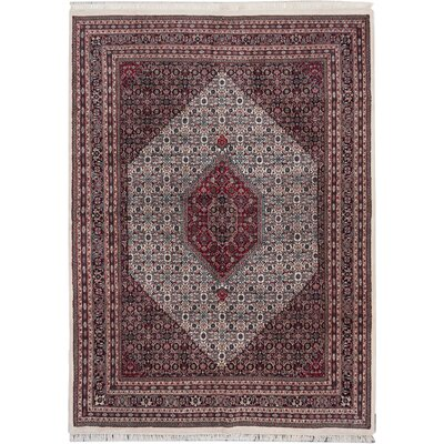 Bijar Hand-Knotted Cream Area Rug