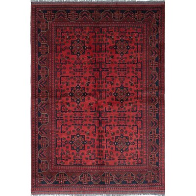 Rosales Hand-Knotted Dark Copper Area Rug