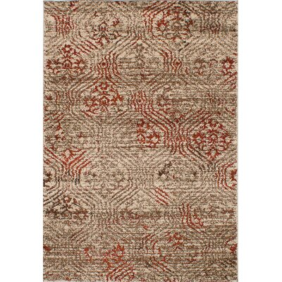Manuel Shag Beige Area Rug Rug Size: Rectangle 52 x 75