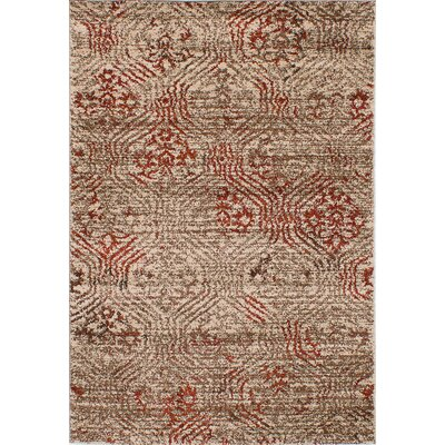 Manuel Shag Beige Area Rug Rug Size: Rectangle 65 x 95