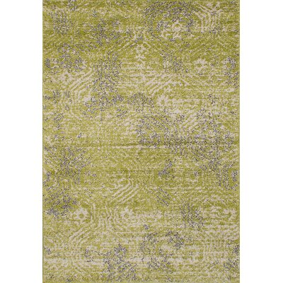 Manuel Shag Light Green Area Rug Rug Size: Rectangle 52 x 75