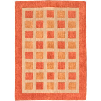 One-of-a-Kind Jones Street Hand-Knotted Beige/Orange Area Rug