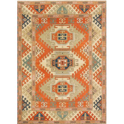 Royal Kazak Hand-Knotted Copper Area Rug