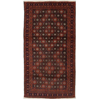 One-of-a-Kind Finest Baluch Wool Hand-Knotted Brown/Copper Area Rug