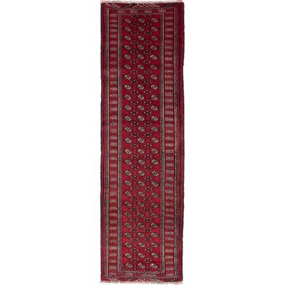 Finest Baluch Hand-Knotted Red Area Rug