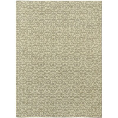 Fab Dhurrie Flat-Woven Light Yellow Area Rug