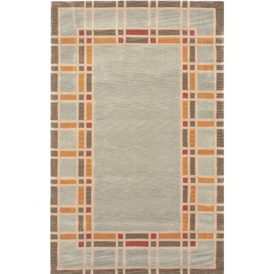 Aurora Wool Handmade Light Blue Area Rug