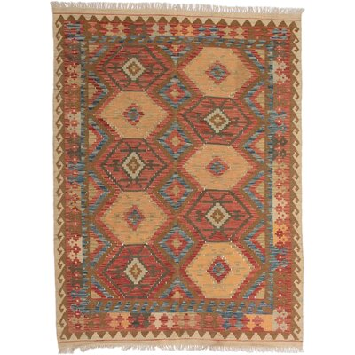 Olmsted Hand-Woven Copper/Light Gold Area Rug