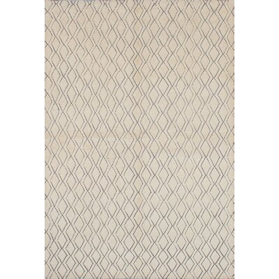 Manheim Hand-Knotted Cream Area Rug