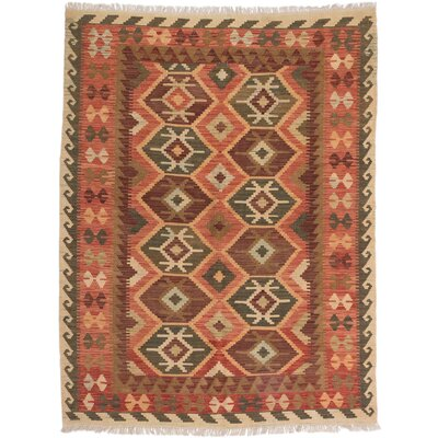 One-of-a-Kind Olmsted Handmade Wool Copper Area Rug
