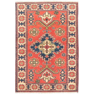 Bunkerville Hand-Knotted Dark Copper/Light Gold Area Rug