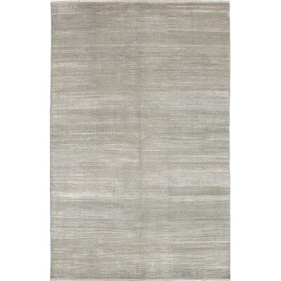 One-of-a-Kind Caxton Hand-Knotted Beige/Light Gray Area Rug