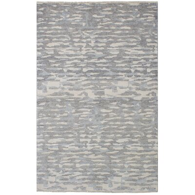 Ajax Hand-Knotted Dark Gray Area Rug