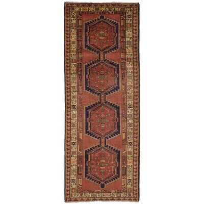 Holloway Hand-Knotted Dark Copper Area Rug