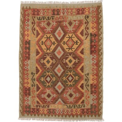 One-of-a-Kind Braintree Handmade Wool Copper/Light Brown Area Rug