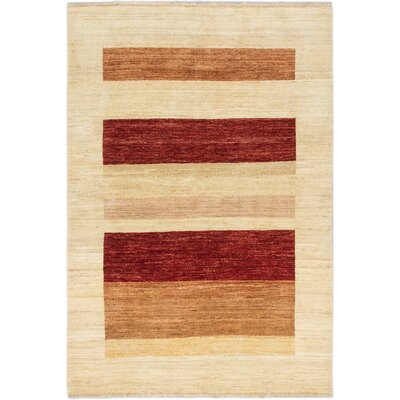 Kadyn Hand-Knotted Cream Area Rug