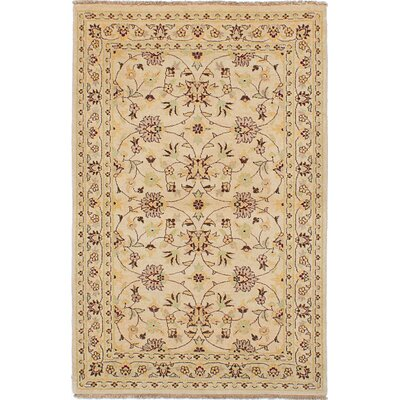 One-of-a-Kind Wagner Hand-Knotted Ivory Area Rug