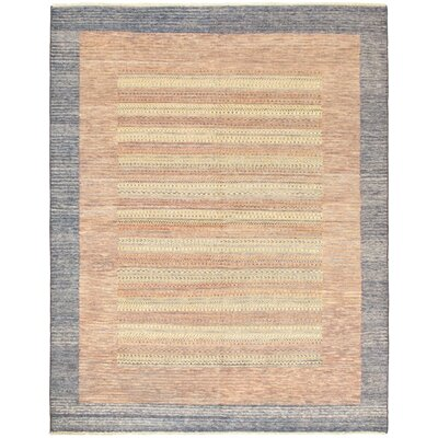 One-of-a-Kind Maplewood Hand-Knotted Brown Area Rug
