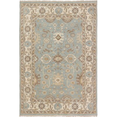 One-of-a-Kind Li Hand-Knotted Gray Area Rug