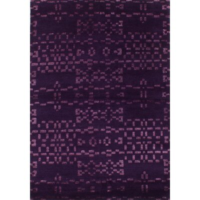 Houston Hand-Knotted Indigo Area Rug