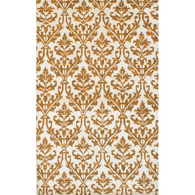 Healey Hand-Knotted Cream Area Rug
