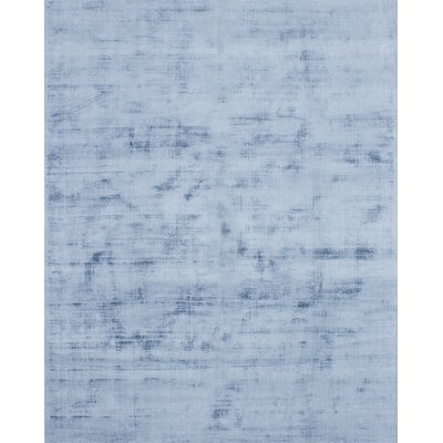 Don Hand-Knotted Light Denim Blue Area Rug