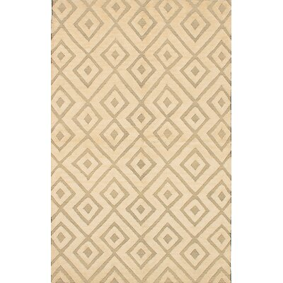Marblehead Hand-Knotted Cream/Light Gray Area Rug