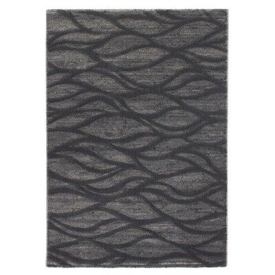 Dorthea Abstract Black/Gray Area Rug Rug Size: 311 x 57